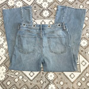 Free People We the Free wide leg jeans blue 28